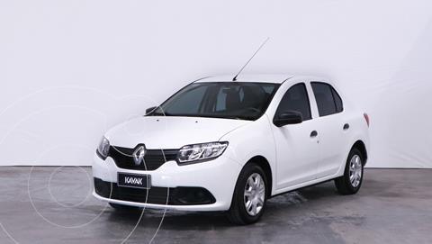 Renault Logan 1.6 Authentique Plus usado (2018) color Blanco Glaciar precio $1.210.000