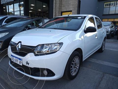 Renault Logan 1.6 Authentique Plus usado (2019) color Blanco precio $1.782.000