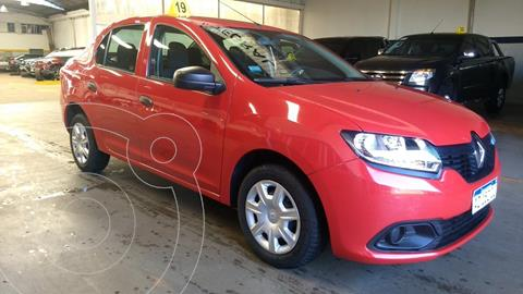 Renault Logan 1.6 Authentique Plus usado (2018) color Rojo Vivo precio $1.200.000