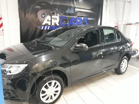 Renault Logan 1.6 Life usado (2021) color Negro Nacre financiado en cuotas(anticipo $1.000.000)