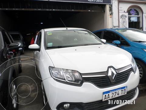 Renault Logan 1.6 Expression usado (2016) color Blanco precio $885.000