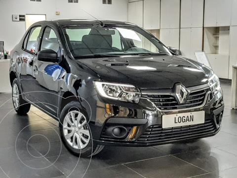 Renault Logan 1.6 Life nuevo color Negro financiado en cuotas(anticipo $300.000 cuotas desde $12.280)
