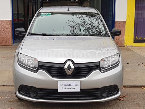 Renault Logan 1.6 Authentique Plus usado (2014) color Gris Estrella precio $699.000