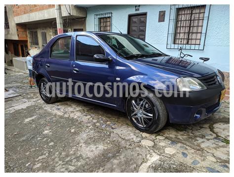 Renault Logan 1.4L Familier Ac usado (2006) color Azul precio $13.799.997