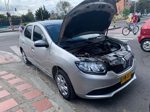 Renault Logan Authentique usado (2018) color Plata financiado en cuotas(anticipo $4.000.000 cuotas desde $735.000)