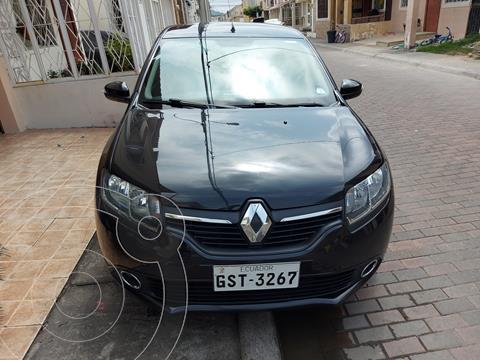 Renault Logan Expression usado (2017) color Negro Nacarado precio u$s11.800