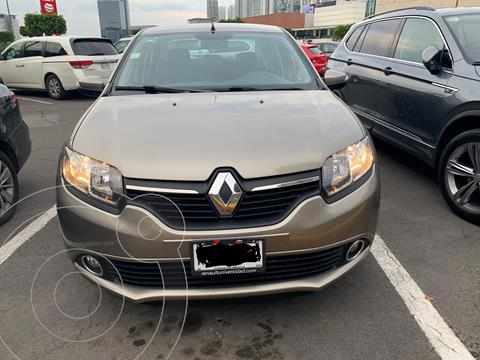 Renault Logan Intens usado (2019) color Gris Cometa precio $175,000