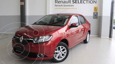 Renault Logan Intens usado (2018) color Rojo precio $195,000