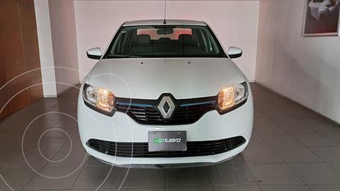 Renault Logan Expression usado (2016) color Blanco Glaciar precio $129,000