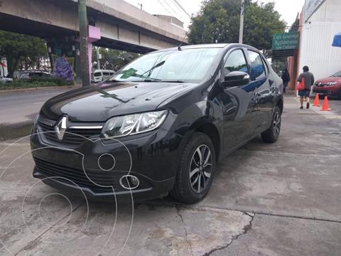 Renault Logan Intens usado (2019) color Negro precio $199,000