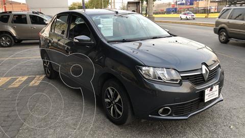 Renault Logan Intens usado (2019) color Gris Cometa financiado en mensualidades(enganche $56,250 mensualidades desde $4,199)