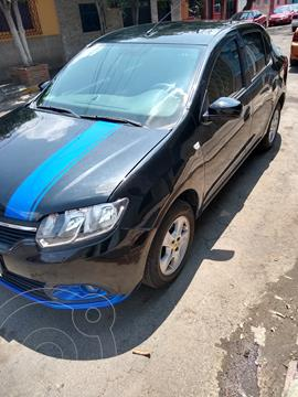 Renault Logan Authentique usado (2017) color Negro Nacarado precio $115,000
