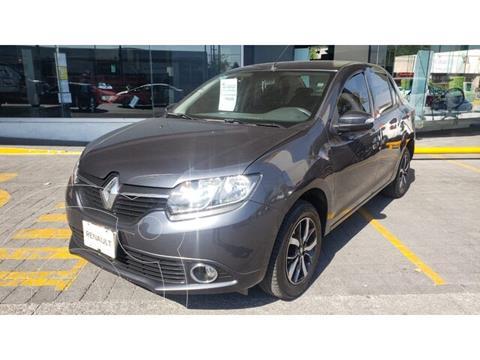 Renault Logan Intens usado (2019) color Gris Cometa precio $195,000