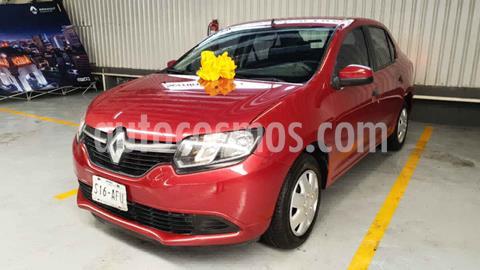 Renault Logan Expression Aut usado (2016) color Rojo precio $135,000