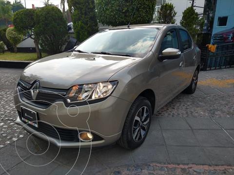 Renault Logan Intens usado (2019) color Champagne precio $189,000