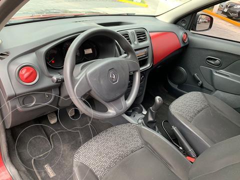 Renault Logan 4 pts. Authentique, TM5, R-15 usado (2016) color Rojo precio $125,000