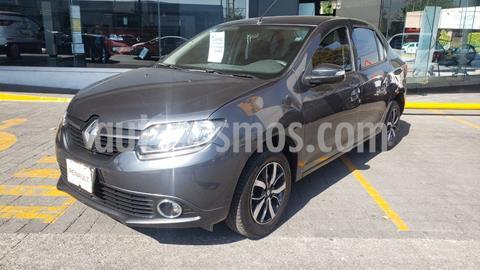 Renault Logan Intens Aut usado (2019) color Gris Estrella precio $195,000