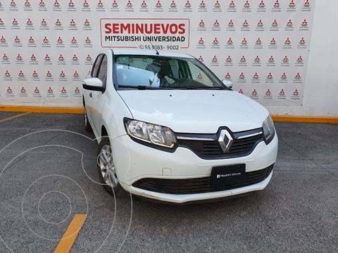 Renault Logan Zen usado (2018) color Blanco Glaciar precio $130,000