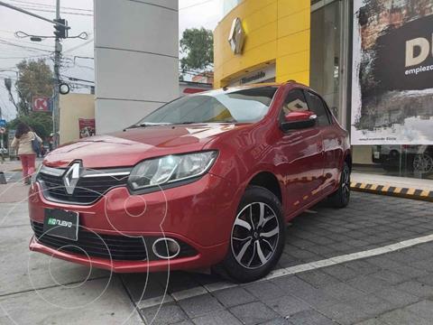 Renault Logan Intens usado (2018) color Rojo precio $155,000