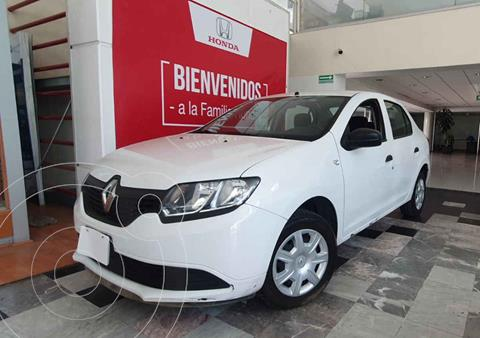 Renault Logan Authentique usado (2017) color Blanco precio $119,000