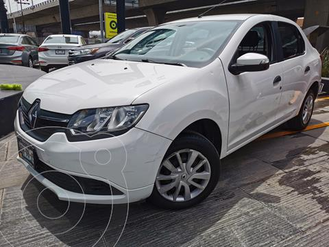 Renault Logan Expression usado (2017) color Blanco Glaciar precio $145,000
