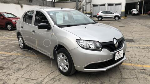 Renault Logan Authentique usado (2017) color Plata financiado en mensualidades(enganche $29,145 mensualidades desde $2,517)