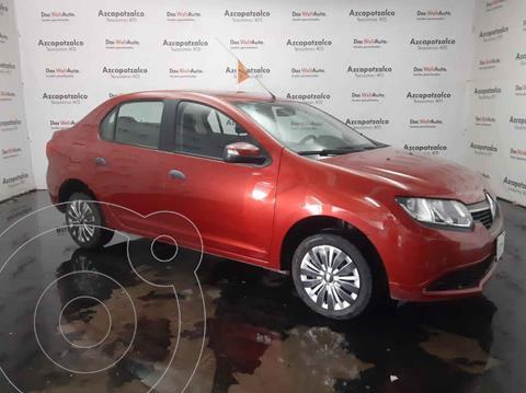 Renault Logan Expression Aut usado (2016) color Rojo precio $129,990