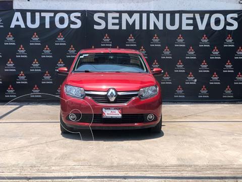 Renault Logan Intens usado (2018) color Rojo precio $169,000