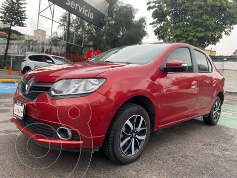 Renault Logan Intens usado (2019) color Rojo precio $197,000