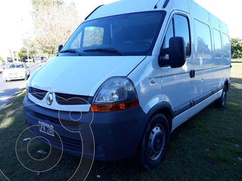 Renault Master Furgon Largo 2.5 TD usado (2010) color Blanco Glaciar financiado en cuotas(anticipo $1.500.000)