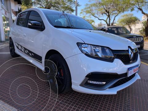 Renault Sandero RS 2.0 usado (2018) color Blanco financiado en cuotas(anticipo $1.050.000)
