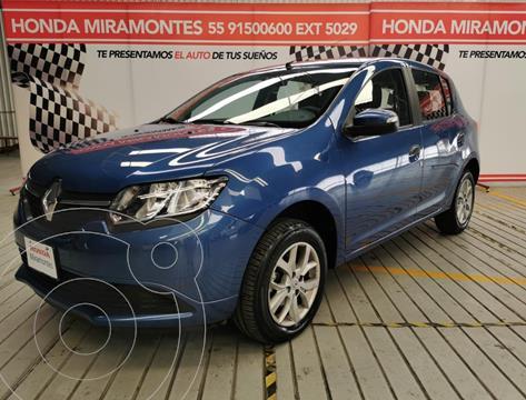 Renault Sandero R.S. Intens Aut usado (2018) color Azul financiado en mensualidades(enganche $47,500 mensualidades desde $4,469)