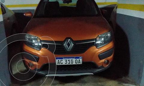 Renault Sandero Stepway 1.6 Privilege usado (2018) color Naranja precio $1.200.000