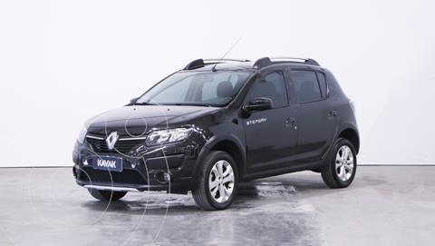 Renault Sandero Stepway 1.6 Dynamique usado (2017) color Negro Nacre precio $1.480.000