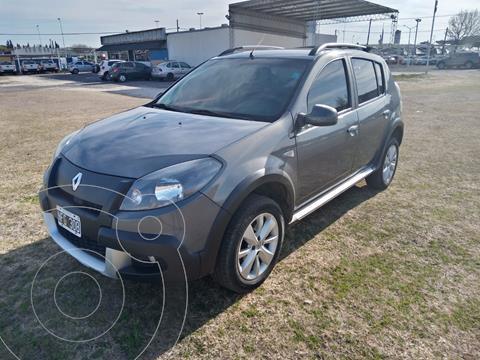 Renault Sandero Stepway 1.6 Privilege NAV usado (2013) color Gris precio $1.250.000