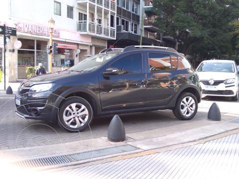 Renault Sandero Stepway 1.6 Privilege NAV usado (2018) color Negro Nacre precio $1.500.000
