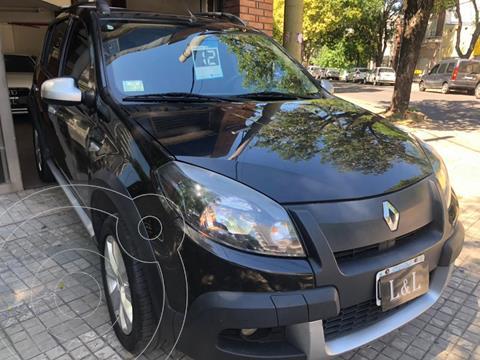 Renault Sandero Stepway 1.6 Confort usado (2012) color Negro precio $780.000