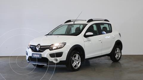 Renault Sandero Stepway 1.6 Expression usado (2019) color Blanco Glaciar precio $1.710.000
