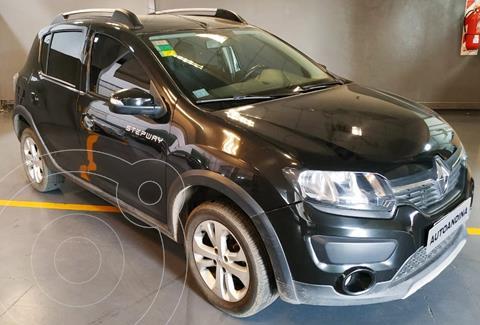 Renault Sandero Stepway 1.6 Privilege usado (2016) color Negro precio $1.100.000