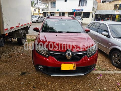 Renault Sandero Stepway Dynamique  usado (2018) color Rojo Fuego precio $43.000.000