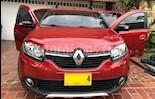 Renault Sandero Stepway Trek Intens  Aut usado (2018) color Rojo Vivo precio $43.000.000