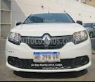 Foto venta Auto usado Renault Sandero 1.6 Authentique (2017) color Blanco Glaciar precio $414.900
