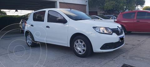 Renault Sandero 1.6 Expression usado (2018) color Blanco Glaciar precio $1.250.000