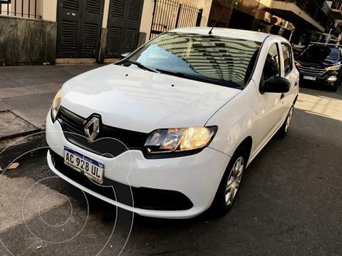 Renault Sandero 1.6 Expression usado (2018) color Blanco Glaciar precio $970.000