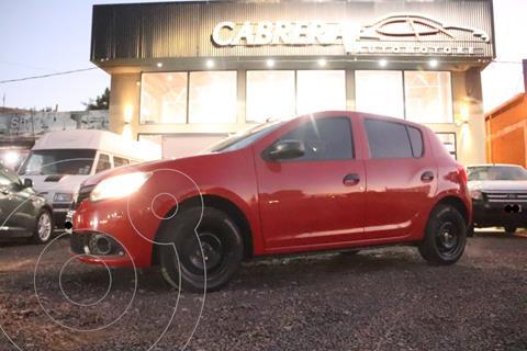 Renault Sandero Authentique usado (2016) color Rojo precio $1.100.000