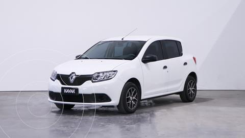 Renault Sandero 1.6 Authentique usado (2017) color Blanco Glaciar precio $1.140.000
