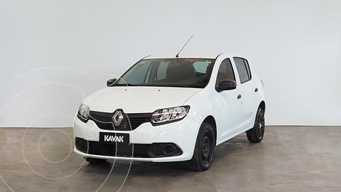 Renault Sandero 1.6 Authentique usado (2017) color Blanco Glaciar precio $1.170.000