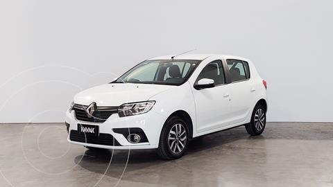 Renault Sandero 1.6 Intens usado (2020) color Blanco Glaciar precio $1.930.000