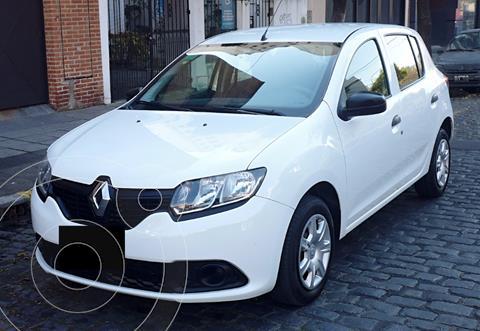 Renault Sandero 1.6 Expression usado (2018) color Blanco precio $1.450.000