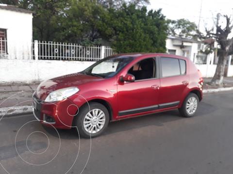 Renault Sandero 1.6 Luxe usado (2012) color Rojo precio $990.000